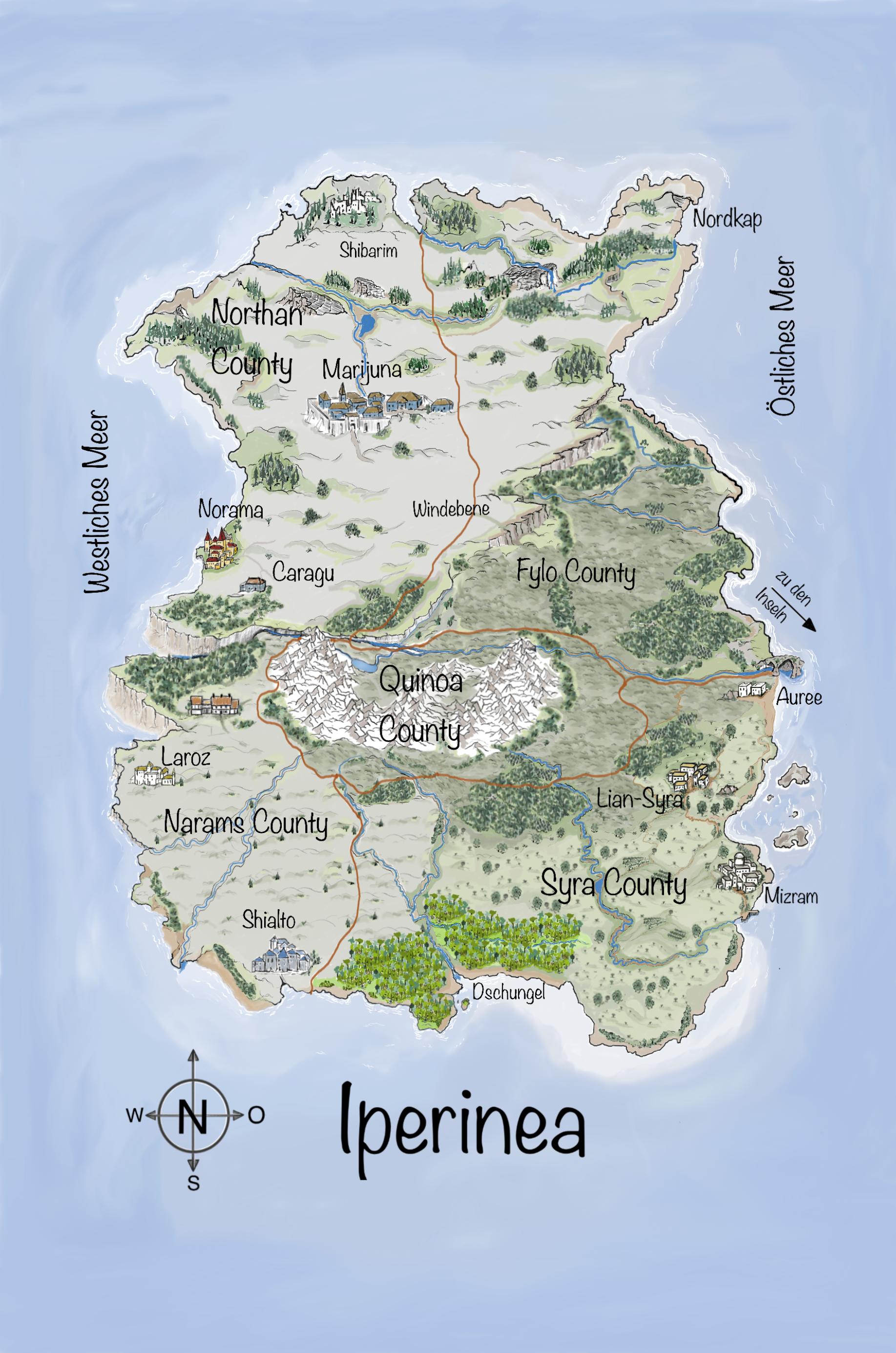 Leben auf Iperinea - Naturgewalten