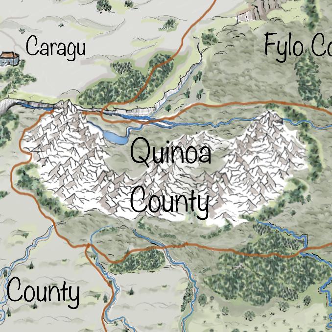 Leben auf Iperinea - Quinoa County