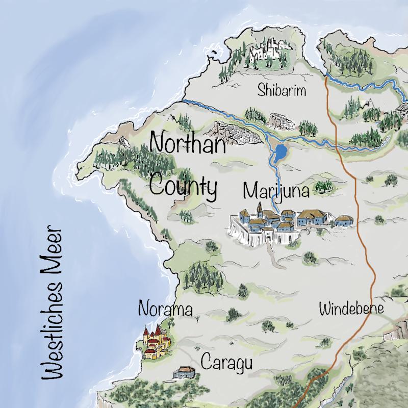 Leben auf Iperinea - Nortan County