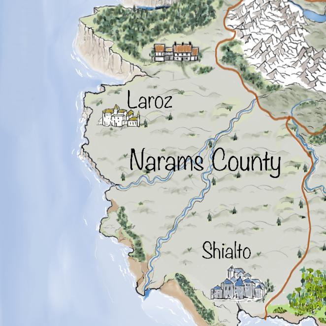 Leben auf Iperinea -  Narams County