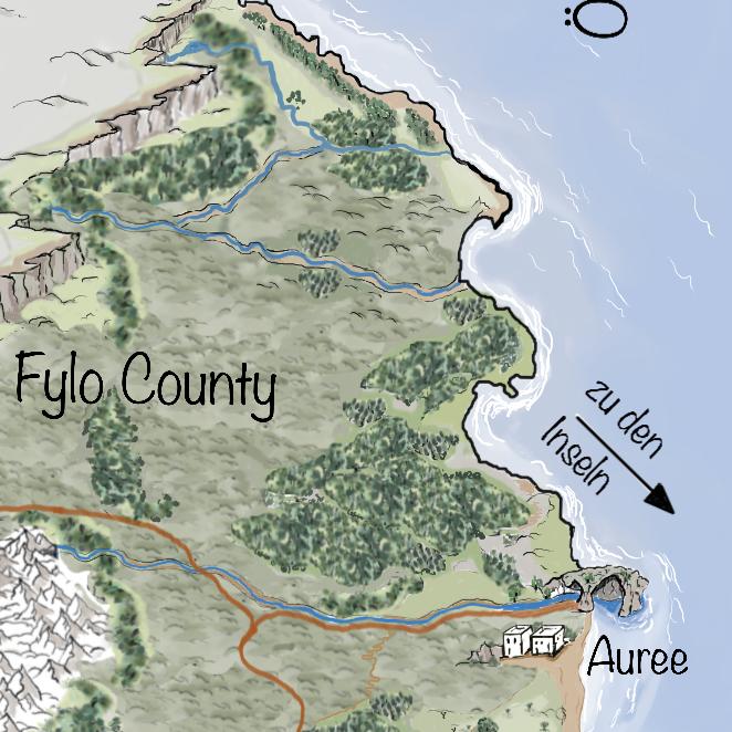 Leben auf Iperinea - Filou County