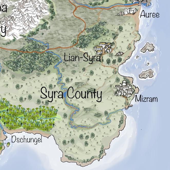 Leben auf Iperinea - Syra County