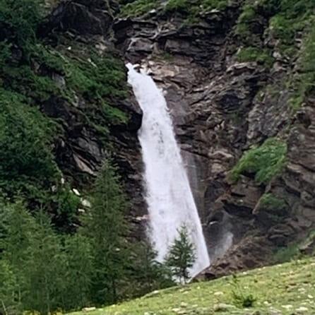 Das Element Wasser - Der Wasserfall