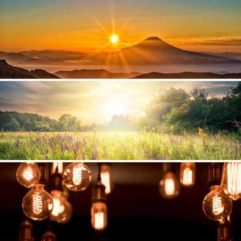 Naturgewalten - Licht