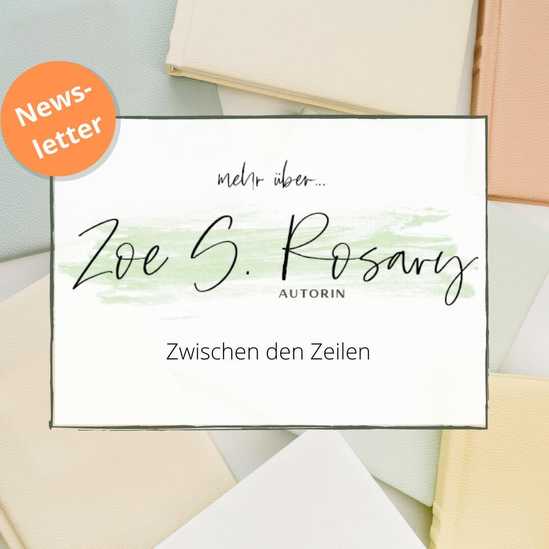 Fantasy-Autorin Zoe S. Rosary - News zur Autorin