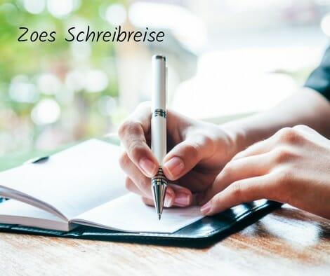 Zoes Schreibreise - hand