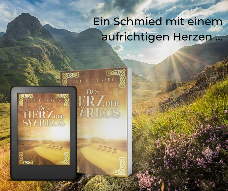 Fantasy Buchreihe - Trilogie - Das Herz der Sväreos - Zoe S. Rosary